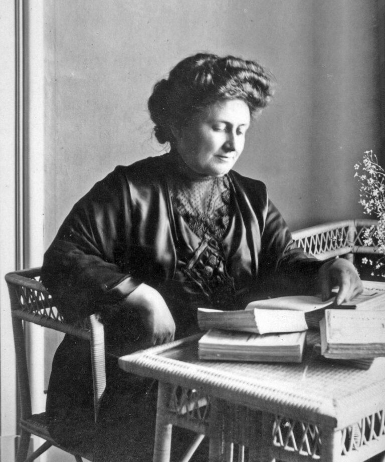 inspirujące postacie: Maria Montessori