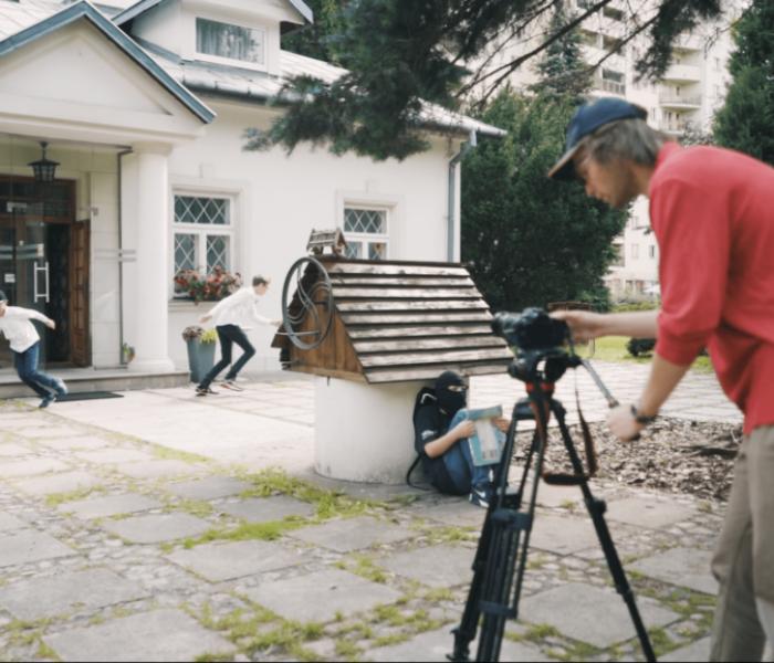 Zajęcia młody filmowiec