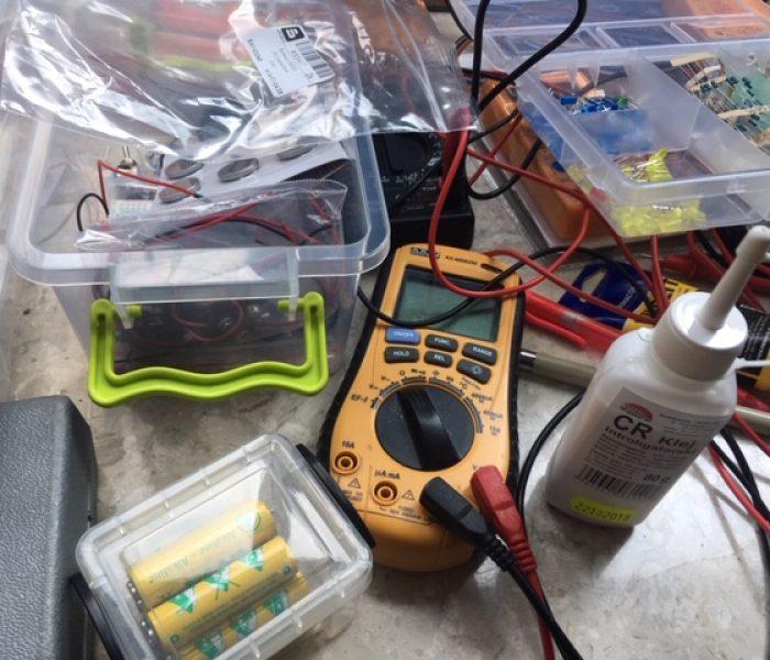 Zajęcia z elektroniki dla smyka